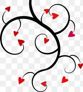 Black Love Cliparts - Love Heart Clip Art PNG