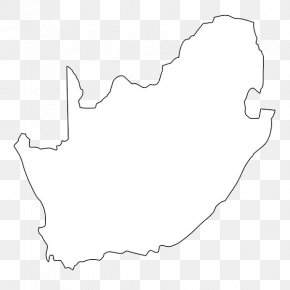 Line South Africa Map - Flag Of South Africa Map Icon PNG