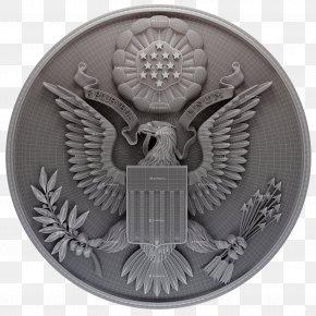United States - Great Seal Of The United States STL 3D Modeling Wavefront .obj File PNG