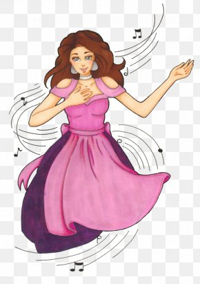 The Traditional Mill - Costume Design Fairy Cartoon Purple PNG