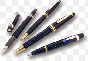 Pen Image - Fountain Pen Stationery PNG