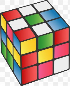 Color Rubik's Cube - Rubiks Cube Wall Decal Mural Sticker PNG