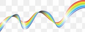 Rainbow Wave Line - Wave Rainbow PNG