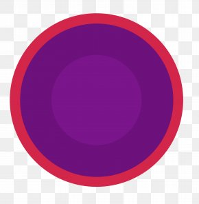 Purple Circle Creative - Circle Font PNG