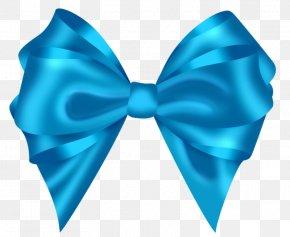 Blue Ribbon - Ribbon Lazo Clip Art PNG