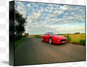 Sports Car - Sports Car Ferrari F355 Luxury Vehicle PNG