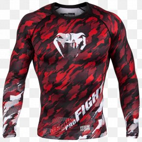 T-shirt - T-shirt Rash Guard Venum Boxing Clothing PNG