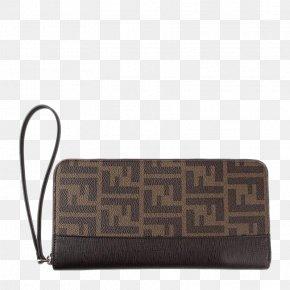 FENDI Fendi Men Zipper Wallet - Handbag Zipper Fendi PNG