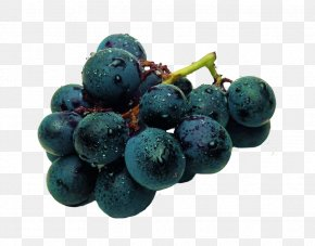 Purple Grape - Cotton Candy Fruit Vegetable Grape Blue PNG