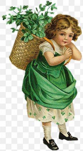Saint Patrick's Day - Ellen Clapsaddle Saint Patrick's Day Ireland Shamrock Clip Art PNG