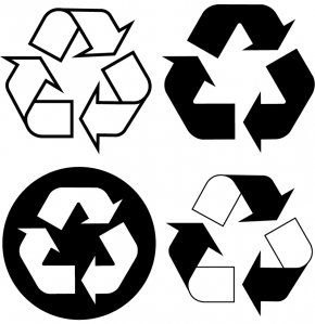 Logo Recycle - Recycling Symbol Paper Logo PNG