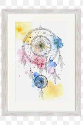 Painting - Watercolor Painting Picture Frames Drawing PNG