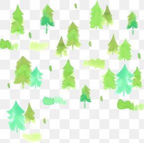 Hand-painted Watercolor Woods - Watercolor Painting PNG
