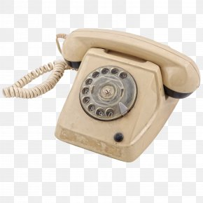 Old Telephone - Telephone Landline Icon PNG