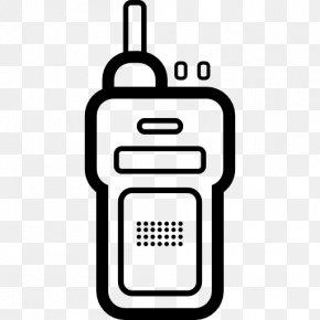 Telephone Icon - Walkie-talkie Telephone Radio Station PNG