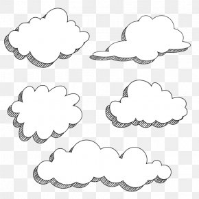 Cartoon Clouds - Cartoon Drawing Comics PNG