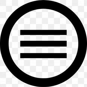 Icon Menu - Creative Commons License Public Domain CC0-lisenssi PNG