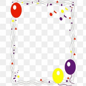 Free Birthday Borders - Happy Birthday To You Party Clip Art PNG