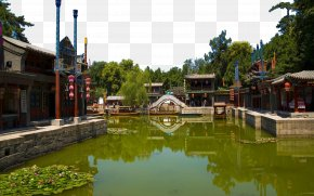 Beijing Summer Palace View Triple - Kunming Lake Summer Palace Humble Administrators Garden Marble Boat Suzhou PNG