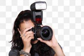 The Camera Man - Camera Flashes Digital Cameras Photography Digital SLR PNG