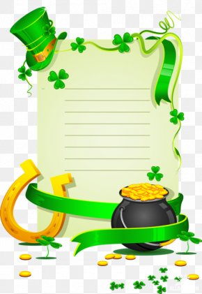 Saint Patrick's Day - Four-leaf Clover Saint Patrick's Day Shamrock Clip Art PNG