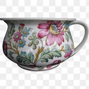 Chamber Pot - Mug Porcelain Flowerpot Chamber Pot Saucer PNG
