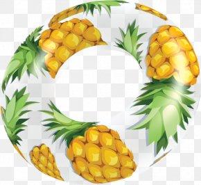 Pineapple - Pineapple Vegetarian Cuisine Food Fruit Clip Art PNG