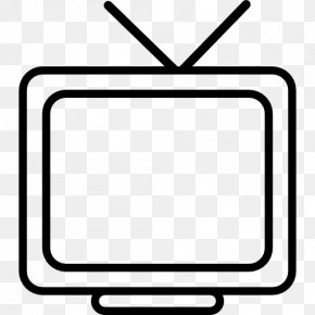 Television Clip Art Black And White - Television Black And White Clip Art PNG
