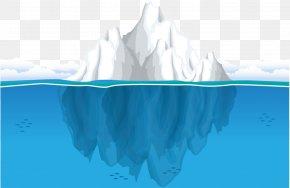 Iceberg Ocean - Iceberg Ocean Seawater Clip Art PNG