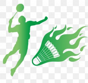 Cartoon Badminton - Badminton Tournament Icon PNG