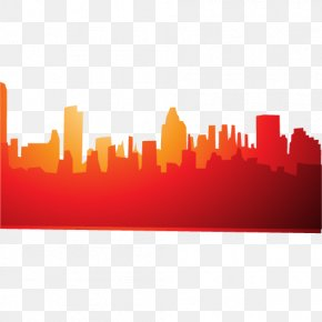 Vector Red City - City Red Euclidean Vector PNG