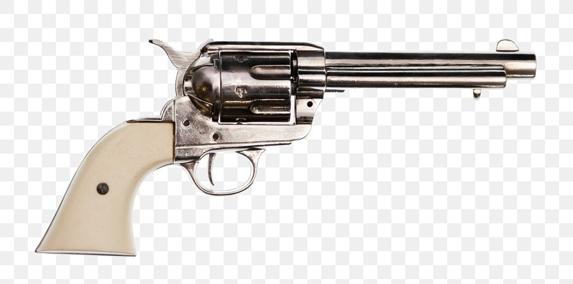 Colt Single Action Army .45 Colt Colt's Manufacturing Company Revolver Weapon, PNG, 734x407px, 45 Acp, 45 Colt, Colt Single Action Army, Air Gun, Bullet Download Free