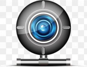 Blue Vector Camera - Video Camera Webcam Icon PNG