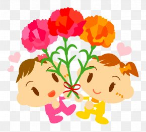 Mother's Day - Floral Design Mother's Day Clip Art PNG