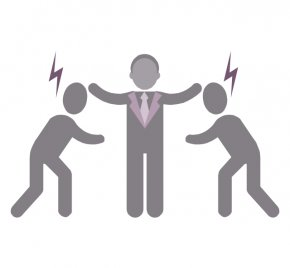 Cliparts Conflict Strategies - Organizational Conflict Symbol Conflict Resolution Clip Art PNG