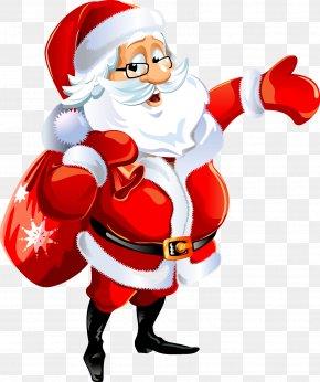 Santa Claus - Santa Claus Christmas Decoration Desktop Wallpaper Clip Art PNG