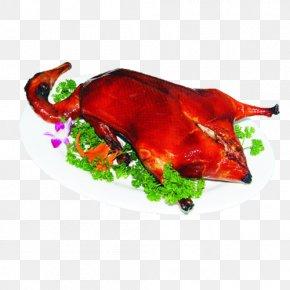 Roast Duck - Peking Duck Roast Goose Roast Chicken Asado PNG