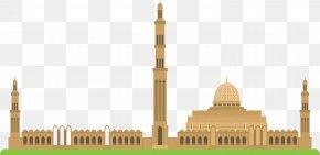 Islamic Church Building - Oman Sultan Ahmed Mosque Islam Church PNG