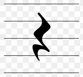 Note Type - Rest Quarter Note Musical Note Soupir Clip Art PNG