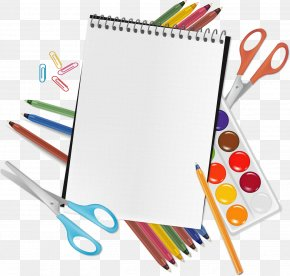 School - School Supplies Clip Art PNG