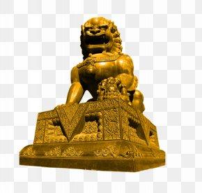 Lion - Lion Stone Sculpture PNG