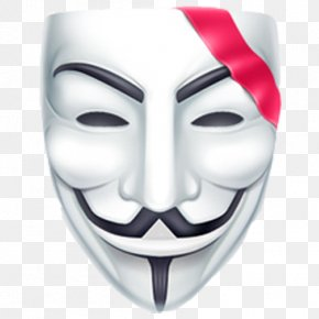 Youtube - YouTube Guy Fawkes Mask V For Vendetta Anonymous PNG