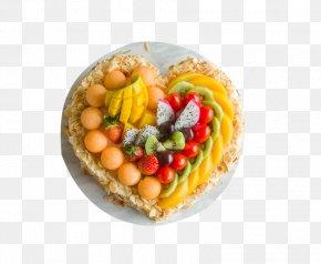 Heart-shaped Birthday Cake Material - Birthday Cake Fruit Mousse Strawberry Cream Cake Pound Cake PNG