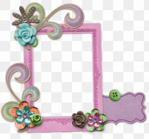Easter Border - Coton De Tulear Toliara Picture Frames Elevage Du Royaume D'Odin PNG