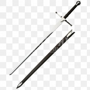 Sword - Middle Ages Claymore Wallace Sword Longsword PNG