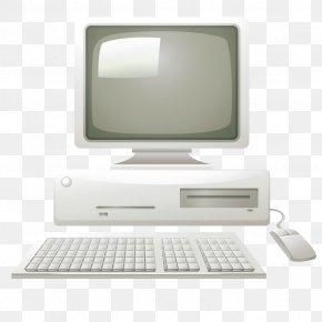 Vector Vintage Computer - Computer Hardware Computer Monitor Personal Computer PNG