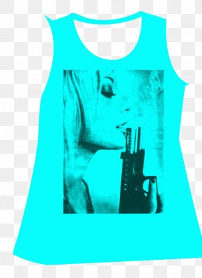 Sleeveless T-shirt - T-shirt Sleeveless Shirt Designer PNG