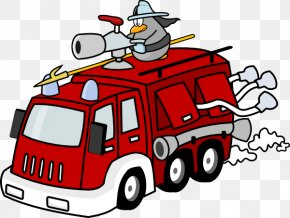 Free Fire Department Clipart - Fire Engine Firefighter Clip Art PNG