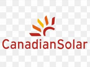 Solar Energy Logo - Canadian Solar Solar Panels Solar Power Solar Energy Photovoltaic System PNG