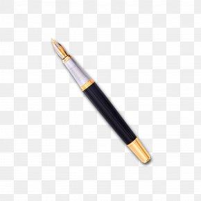 Black Pen - Drum Stick Drums Percussion Mallet Fountain Pen PNG